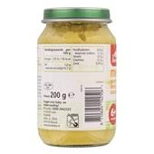 Bonbébé Baby/Peuter Maaltijd Menu Wortel, Erwt, Kip En Aardappel achterkant