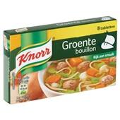 Knorr Bouillon Groente achterkant