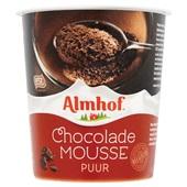 Almhof Chocolademousse Puur voorkant