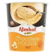 Almhof Chocolademousse Wit voorkant