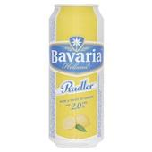Bavaria Radler Lemon 50Cl Blik voorkant