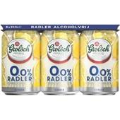 Grolsch Radler Lemon  0.0% 6X33CL voorkant