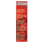 Louisiana Tabasco Gold Red Pepper achterkant