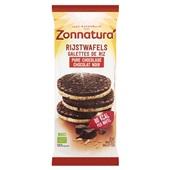 Zonnatura Rijstwafel pure chocolade voorkant