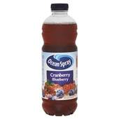 Ocean Spray Siropen Spray Cranberry Blueberry voorkant