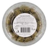Spar Tapas Groene knoflook olijven achterkant