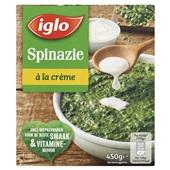 Iglo Field Fresh Spinazie À La Crème voorkant