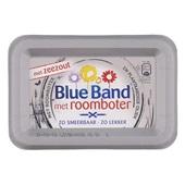 Blue Band Smeerbare roomboter Zeezout achterkant