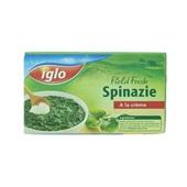 Iglo Field Fresh Spinazie À La Crème achterkant