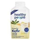 Healthy People kefir drink  vanille voorkant