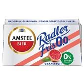 Amstel pils  alcoholvrij grapefruit  voorkant
