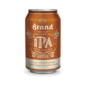 Brand bier  IPA  voorkant