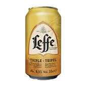 Leffe bier  triple  voorkant