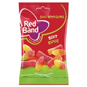 Red Band duo winegums  zoet zuur  voorkant