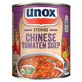 Unox soep  chinese tomatensoep stevig voorkant