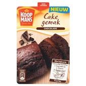 Koopmans cake gemak chocolade voorkant