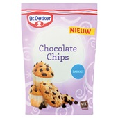 Dr. Oetker chocolate chips voorkant