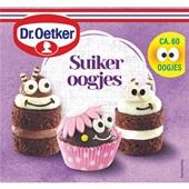 Dr. Oetker suikeroogjes voorkant