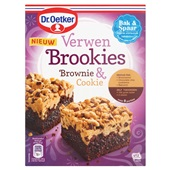 Dr. Oetker verwen brookies voorkant