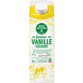 Spar echt dichtbij yoghurt  vanille voorkant