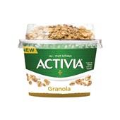 Activia yoghurt granola voorkant