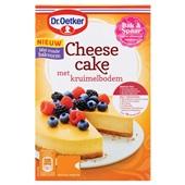 Dr. Oetker cheesecake met kruimelbodem voorkant