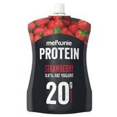 Melkunie protein yoghurt aardbei voorkant