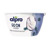 Alpro go on blueberry voorkant