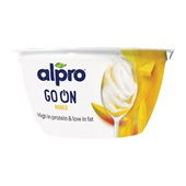 Alpro go on voorkant