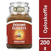 Douwe Egberts oploskoffie Douwe Egberts Aroma Rood oploskoffie, 200 gram achterkant