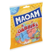 Maoam snoep happy dabbies achterkant