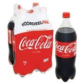Coca Cola regular 4x1,5 liter achterkant