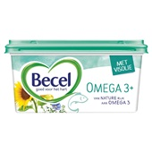 Becel margarine omega 3 plus voorkant