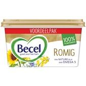 Becel margarine romig  voorkant
