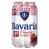 Bavaria bier  rose  voorkant