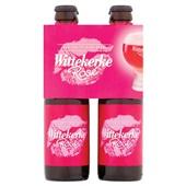 Wittekerke bier  rose  voorkant