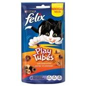 Felix kattenvoer Play Tubes kip en lever voorkant