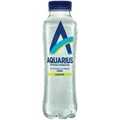 Aquarius Energydrank daily hydration lemon voorkant
