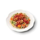 Culivers (18) spaghetti met gehaktballetjes in kruidige tomatensaus voorkant
