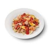 Culivers (61) farfalle met tonijn en gamba's in pittige tomatensaus voorkant