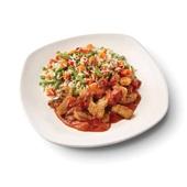 Culivers (63) vegetarische grillstukjes met pomodorisaus en zilvervliesrijst-groenteschotel voorkant