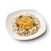 Culivers (59) rode linzencurry met wilde rijst voorkant