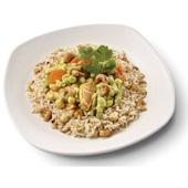 Culivers (61) Thaise gele groentecurry met noten-zilvervliesrijst  voorkant