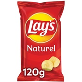Lay's chips naturel voorkant
