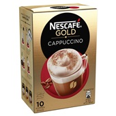 Nescafé Cappuccino achterkant
