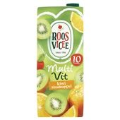 Roosvicee 1 Vruchtensap Kiwi/ Sinaasappel voorkant