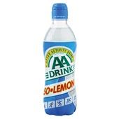 AA Drink Sportdrank Iso Lemon voorkant
