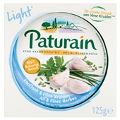 Paturain Kruidenkaas Knoflook Light voorkant