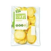 aardappel schijfjes voorkant