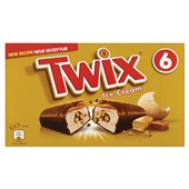 Twix Ice cream repen 6 stuks voorkant